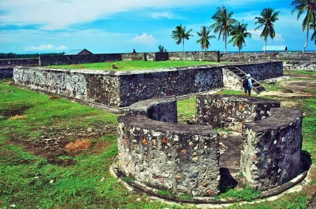 Benteng Iskandar Muda aceh