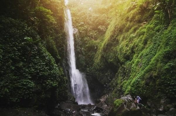 Curug Cantel wisata alam tegal