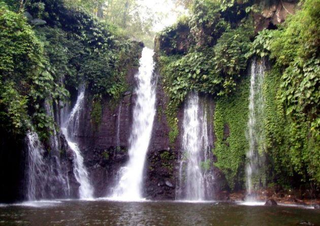 Curug Pitu Margasari wisata tegal