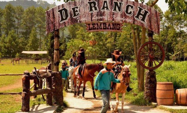 De'Ranch wisata unik di bandung