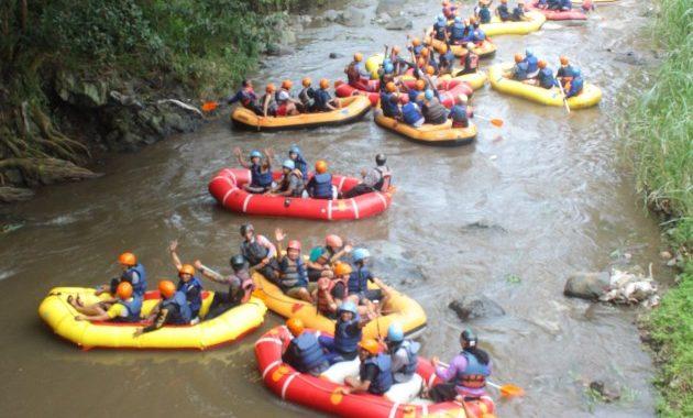 Kaliwatu Rafting wisata batu
