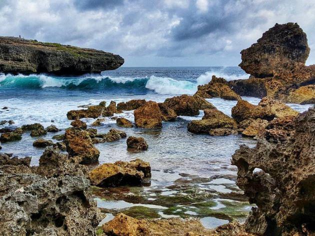Pantai Watu Pecah malang