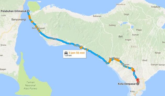 Rute Wisata Bali Dari Gilimanuk