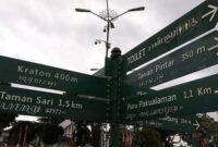 Rute Wisata Jogja Searah