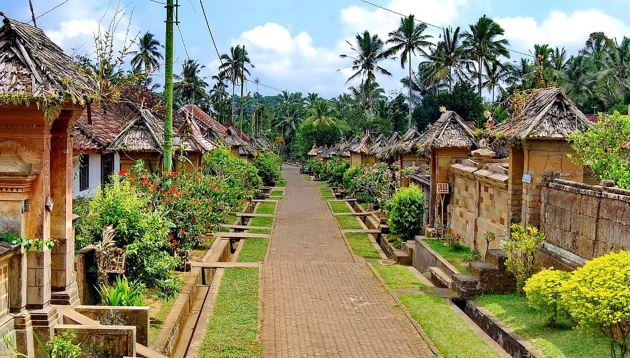 Desa Penglipuran, tempat wisata di Bangli