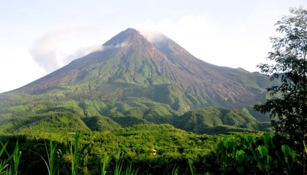Gunung Merapi, tempat wisata di Yogyakarta