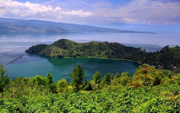 Pulau Samosir, Objek tempat wisata di Sumatera